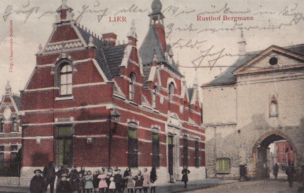 Kartka wysłana 23 października 1914 r. do J. Engler do Stargardu. Niestety nieczytelna. Pisana po niemiecku.