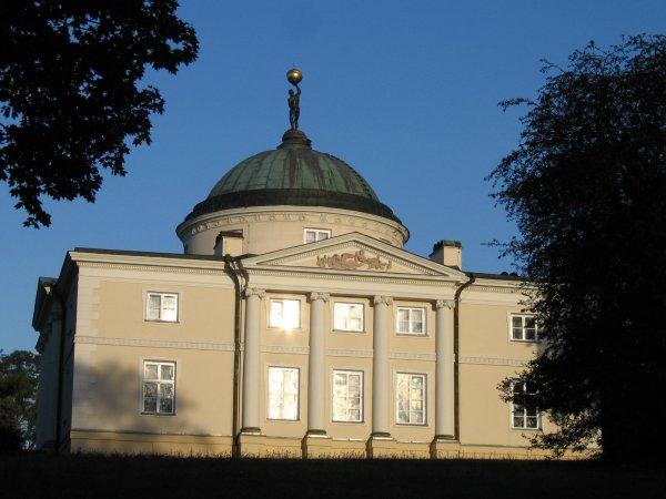 """<span style=""""font-size: 10pt;"""">Pałac Skórzewskich w Lubostroniu, którzy byli właścicielami Rynarzewa.</span>"""